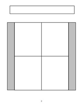 Blank, Ready to Edit Interactive Notebook Templates