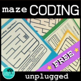 Coding Algorithms Unplugged Mazes