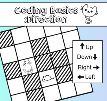 Coding Basics Direction Age 5 - 7