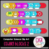 Coding Blocks Clip Art