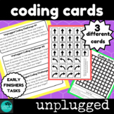 Coding Challenge Cards - Unplugged