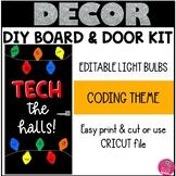 Hour of Code Bulletin Board Christmas
