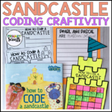 Coding Craft and Writing Prompt (K-2) - How to Code a Sandcastle