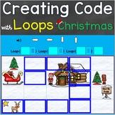 Coding, Creating Code with Loops Christmas Theme Digital B
