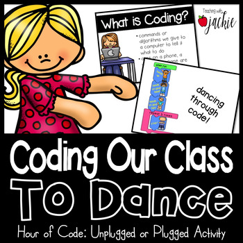 Hour of Code: Coding Dances for Brain Breaks (Unplugged or