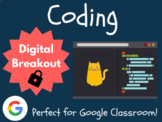 Coding - Digital Breakout! (Escape Room, Hour of Code)