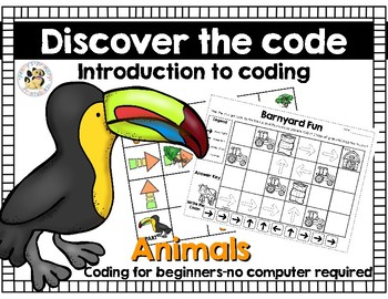 Coding:Discover the code-Animals