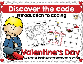 Coding: Discover the code-Valentine's Day