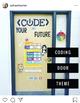 < CODE > YOUR FUTURE - Coding Door Decoration Theme