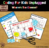 Coding For Kids Unplugged: Where's The Cheese?