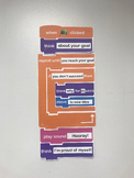 Coding Goal Setting Bulletin Board