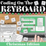 Coding & Keyboarding Practice:  12 Christmas Challenges -
