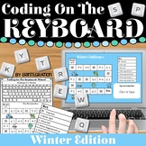 Coding & Keyboarding Practice:  12 Winter Challenges - Dig