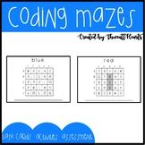 Unplugged Coding Mazes