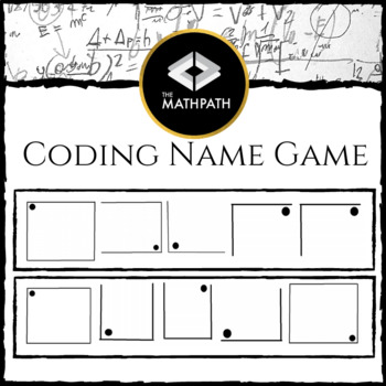 Coding Name Game: First Day Activity (Patterns, Analyzing, Communication)