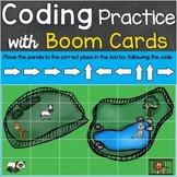 Coding Practice, Computer Programming Code Boom Cards - Zo