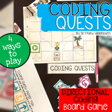 Coding Quests Directional Coding Board Game