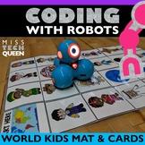 Multicultural Robot Coding Activity Mat