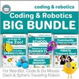 Coding & Robotics Big Bundle - Bee-Bot, Code & Go Mouse, Dash, Sphero