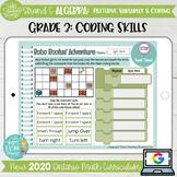Coding Skills Grade 3 2020 Ontario Math DIGITAL : Algebra