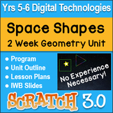Coding Space Shapes in Scratch - Year 5/6 Geometry and Digital Technologies Unit
