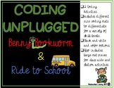 Coding Unplugged Back to School Primary Technology Station Activity