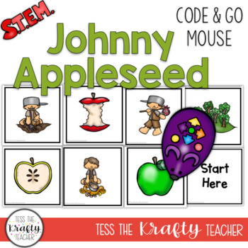 Coding Unplugged - Code and Go Mouse Johnny Appleseed September - Robotics STEM