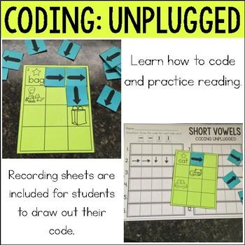 Coding Unplugged: Short Vowels
