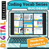 Coding Vocab Digital Breakout: Bug and Debug