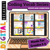 Coding Vocab Digital Breakout: Events and Conditions