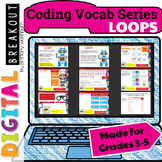 Coding Vocab Digital Breakout: Loops