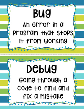 Coding Vocabulary