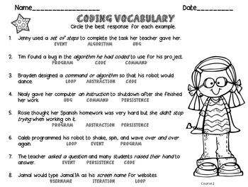 Coding Vocabulary Made Easy