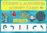 Coding, Robotics and Algorithms Activity Cards Bundle