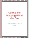 Coding and Mapping World War One Ozobot Social Studies Project