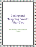 Coding and Mapping World War Two Ozobot Social Studies Project