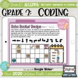 Coding Skills Grade 2 2020 Ontario Math DIGITAL Strand C Algebra