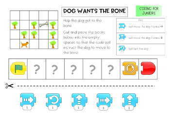 Coding for Juniors PACK – Using Scratch Jr, notes, answer key, 21 pgs