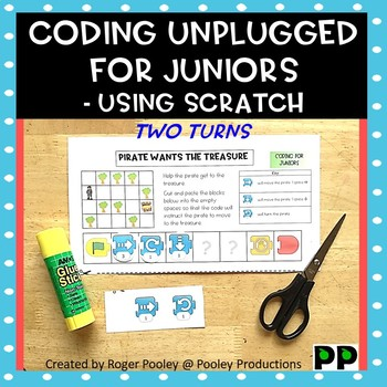 Coding for Juniors - Using Scratch Jr, making right hand turns