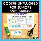 Coding Unplugged for Early Elementary -Using Scratch Jr, two turns