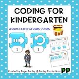 Coding for Kindergarten, teacher notes, 6pgs