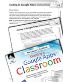Coding in Google Sites--Getting Geeky