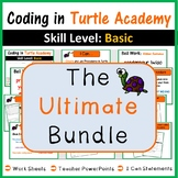 Coding in Turtle Academy: The Ultimate Bundle (Coding & Maths)