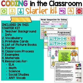 Coding in the Classroom Starter Kit FREEBIE