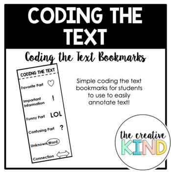 Coding the Text Bookmarks