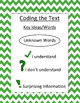 Coding the Text Poster