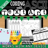 Coding with ASCII Text Art for Any Device: Back to School