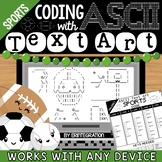 Coding with ASCII Text Art for Any Device: SPORTS