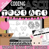 Coding with ASCII Text Art for Any Device: Spring - Distan