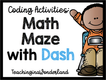 Coding with Dash: Math Maze Multiplication